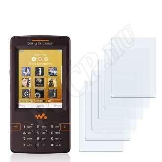 Sony Ericsson W950i kijelzővédő fólia