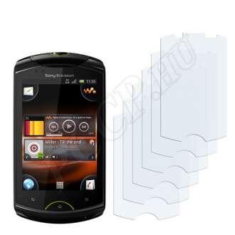 Sony Ericsson WT-19i kijelzővédő fólia