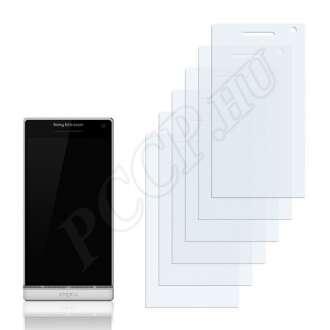 Sony Ericsson Xperia Arc HD kijelzővédő fólia