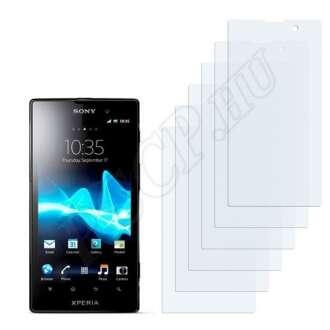 Sony Ericsson Xperia Ion LT28i kijelzővédő fólia