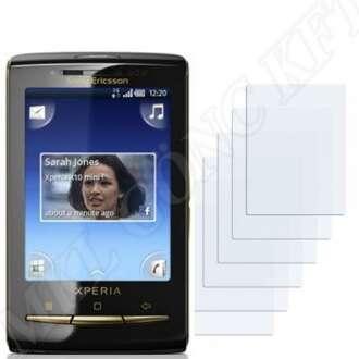 Sony Ericsson Xperia X10 Mini kijelzővédő fólia