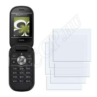 Sony Ericsson Z320i kijelzővédő fólia
