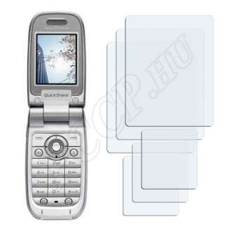 Sony Ericsson Z520i kijelzővédő fólia