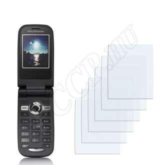 Sony Ericsson Z550i kijelzővédő fólia