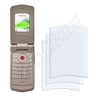 Sony Ericsson Z555i kijelzővédő fólia