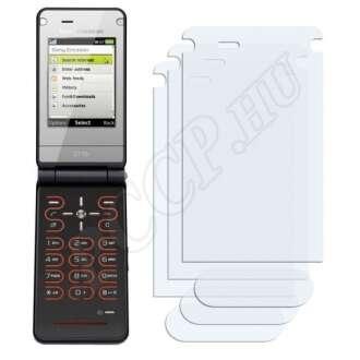 Sony Ericsson Z770i kijelzővédő fólia