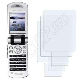 Sony Ericsson Z800i kijelzővédő fólia