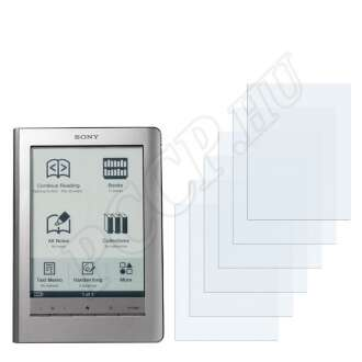 Sony PRS-600 kijelzővédő fólia