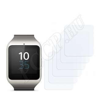 Sony Smartwatch 3 SWR50 kijelzővédő fólia