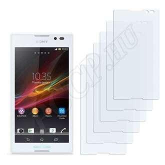 Sony Xperia C (C2305) kijelzővédő fólia