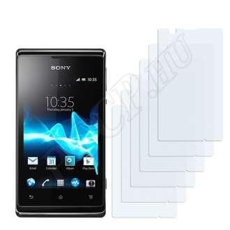 Sony Xperia E (C1504) kijelzővédő fólia