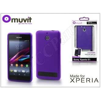 Sony Xperia E1 lila hátlap