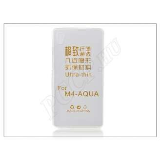 Sony Xperia M4 Aqua átlátszó szilikon hátlap