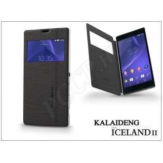 Sony Xperia T3 (D5103) fekete flip tok