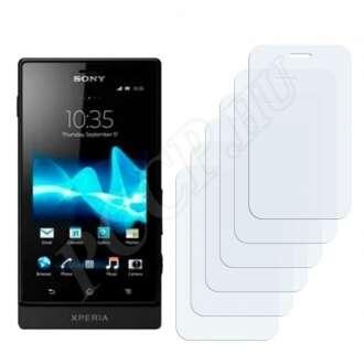 Sony Xperia Tapioca (ST21iv) kijelzővédő fólia
