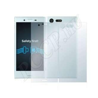 Sony Xperia X Compact (elő- és hátlap) kijelzővédő fólia