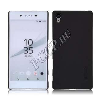 Sony Xperia XA fekete vékony szilikon hátlap