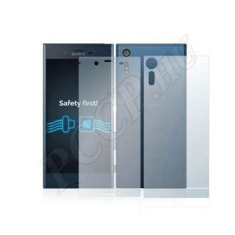 Sony Xperia XZ (elő- és hátlap) kijelzővédő fólia