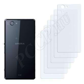 Sony Xperia Z1f hátlap kijelzővédő fólia
