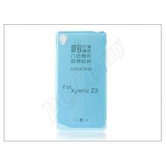 Sony Xperia Z3 (D6603) kék szilikon hátlap