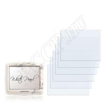 TomTom ONE White Pearl Special Edition kijelzővédő fólia