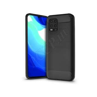 Xiaomi Mi 10 Lite fekete szilikon hátlap