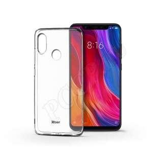 Xiaomi Mi 8 fekete szilikon hátlap