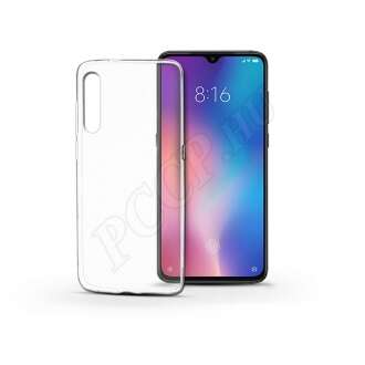 Xiaomi Mi 9 átlátszó szilikon hátlap
