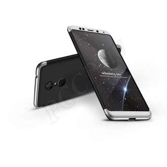 Xiaomi Redmi 5 Plus fekete/ezüst három részből álló védőtok