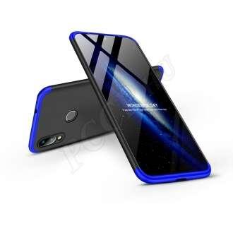 Xiaomi Redmi 7 fekete/kék három részből álló védőtok