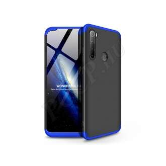 Xiaomi Redmi Note 8 fekete/kék hátlap