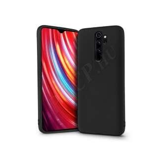 Xiaomi Redmi Note 8 Pro fekete szilikon hátlap