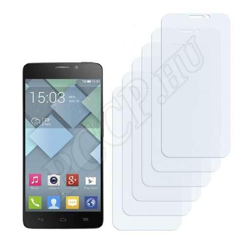 Alcatel One Touch Idol X 6040 kijelzővédő fólia