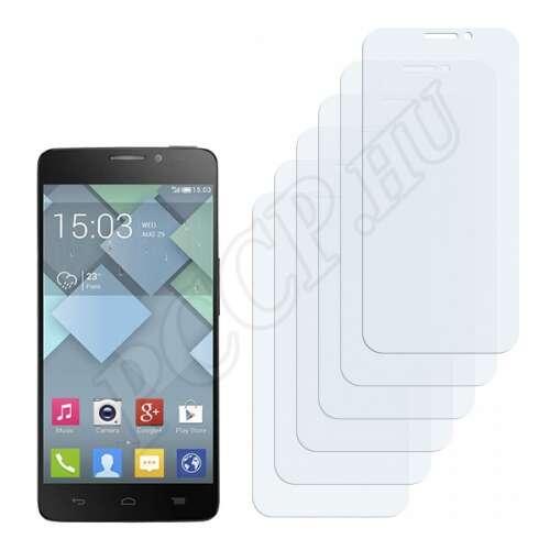 Alcatel One Touch Idol X 6040E kijelzővédő fólia