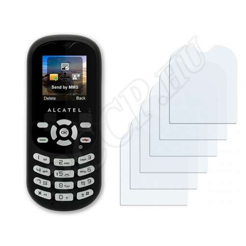 Alcatel One Touch OT-300 2010 kijelzővédő fólia
