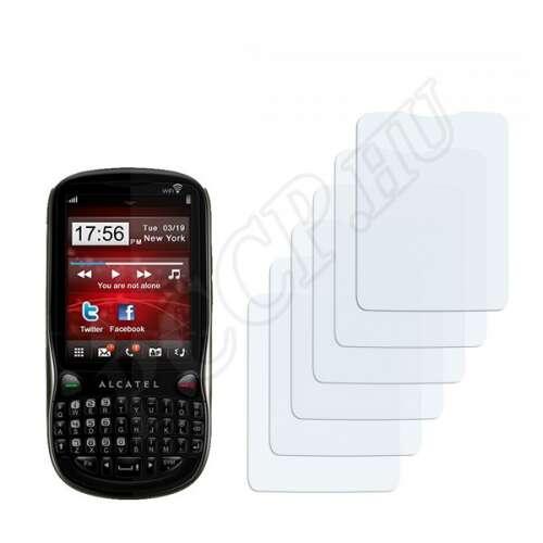 Alcatel One Touch OT-806 kijelzővédő fólia