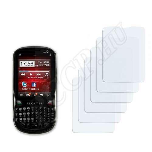 Alcatel One Touch OT-806A kijelzővédő fólia