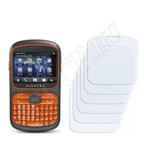 Alcatel One Touch OT-813 kijelzővédő fólia