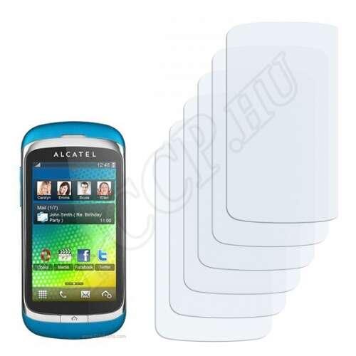Alcatel One Touch OT-818D kijelzővédő fólia
