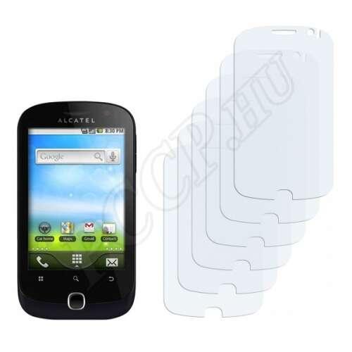 Alcatel One Touch OT-990 kijelzővédő fólia