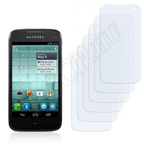 Alcatel One Touch OT-997D Ultra kijelzővédő fólia