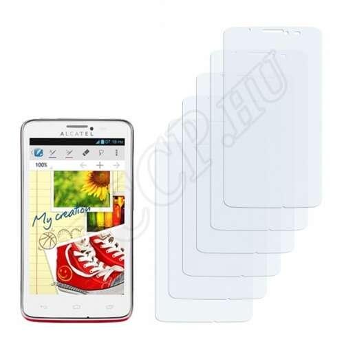Alcatel One Touch Scribe Easy OT-8000D kijelzővédő fólia