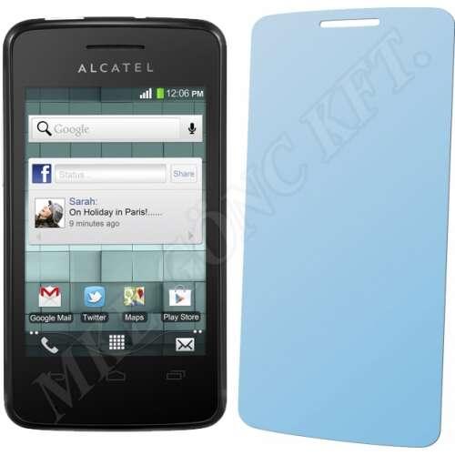 Alcatel One Touch OT-4010D TPop kijelzővédő fólia
