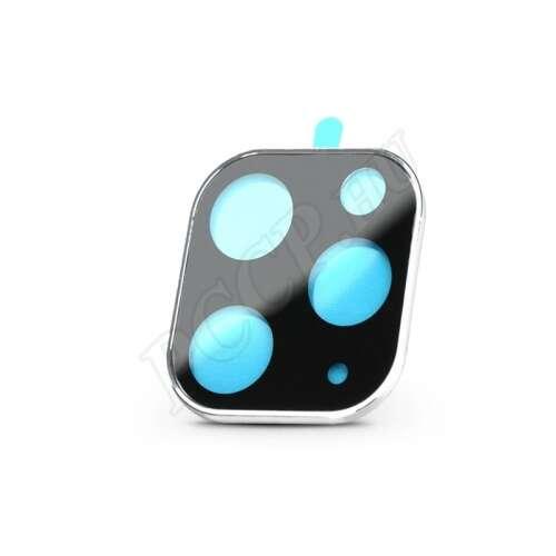 Apple Iphone 11 Pro fekete/ezüst (hátsó kamera) üveg kijelzővédő fólia