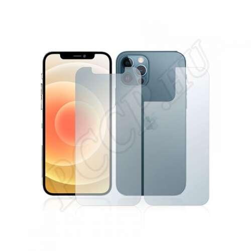 Apple iPhone 12 Pro (elő- és hátlap) kijelzővédő fólia