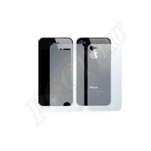 Apple iPhone 4S elő- és hátlap kijelzővédő fólia