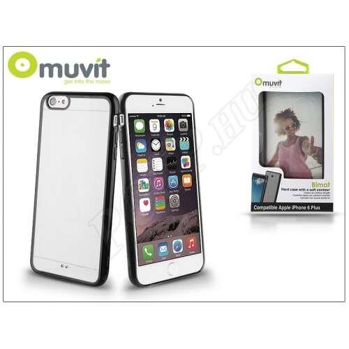 Apple Iphone 6 Plus fekete/átlátszó hátlap