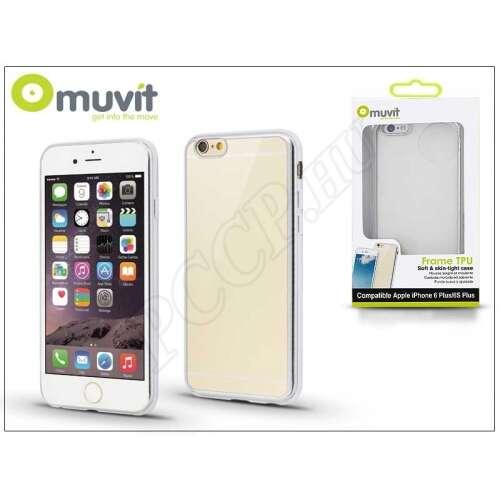 Apple Iphone 6 Plus átlátszó/ezüst hátlap