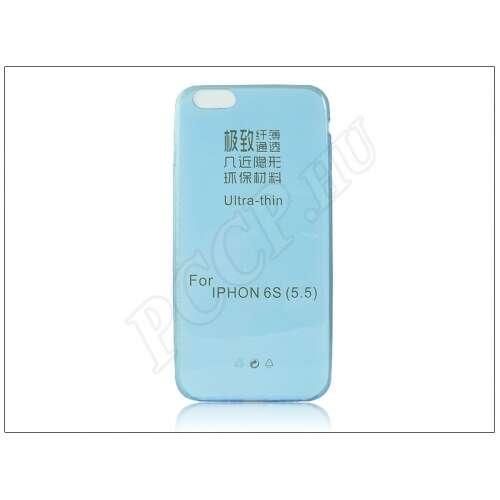 Apple Iphone 6 Plus kék szilikon hátlap