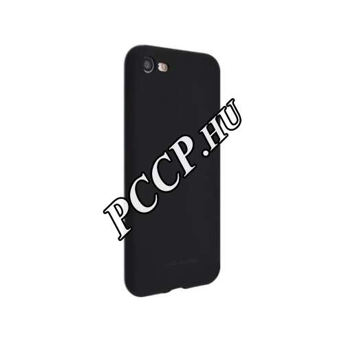 Apple Iphone 6S fekete szilikon hátlap
